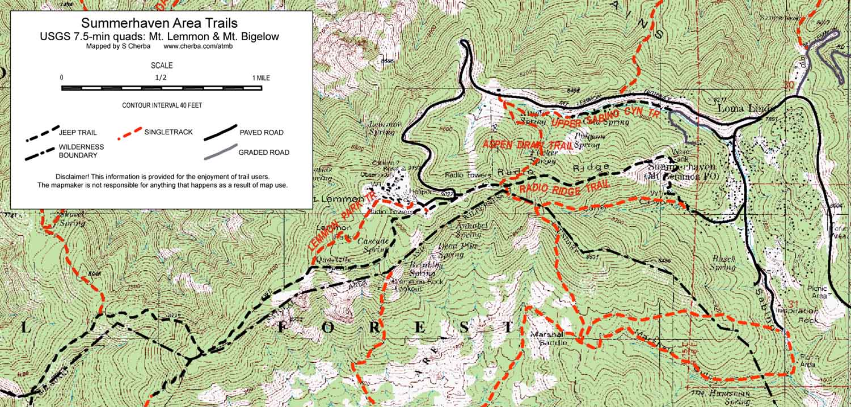 aspen draw meadow trail loop trail adventures in tucson